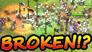 WILL THIS BREAK THE GAME!? - Clash Of Clans - OVERLOAD!!