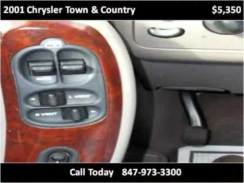 2001 Chrysler Town & Country Used Cars Fox Lake IL