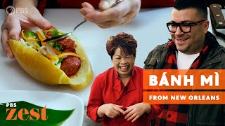 """Vietnamese Chef Makes a Bánh Mì, New Orleans' Other """"Po' Boy"""" 