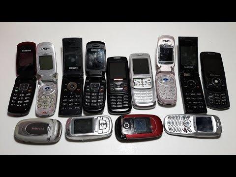 Посылка 13 ретро телефонов Samsung за 3$ !!! ШОК !!! НА ШАРУ !!!