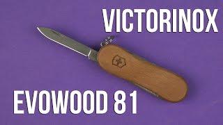видео Ножи Victorinox EvoWood