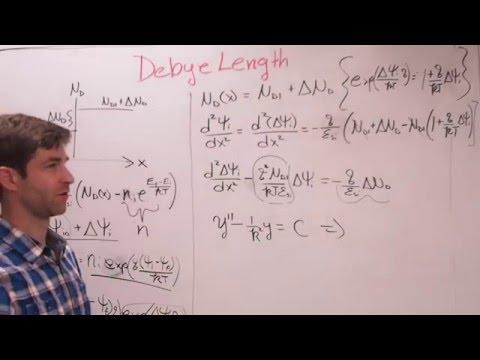 Debye Length in Doped Semiconductors