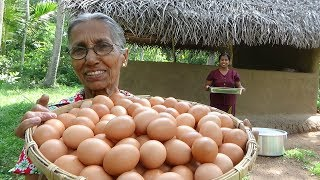 Egg Fingers Recipe by Grandma and Daughter ❤ Village Life