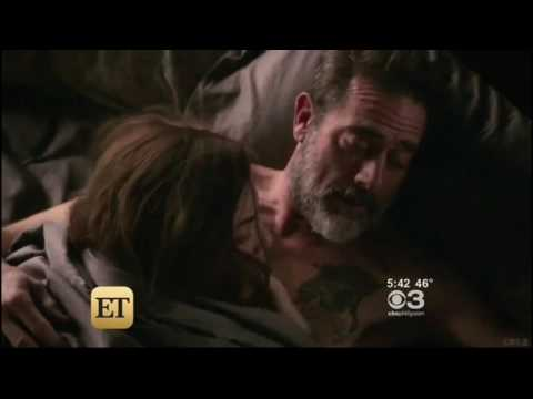 ET - Julianna Margulies & Jeffrey Dean Morgan on working together on