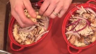 47. Smoked Salmon Ziti With Italian-ish Green Beans, Ceasar Salad, Tiramisu