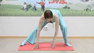 Фитнес дома для начинающих.  Разминка под руководством фитнес инструктора