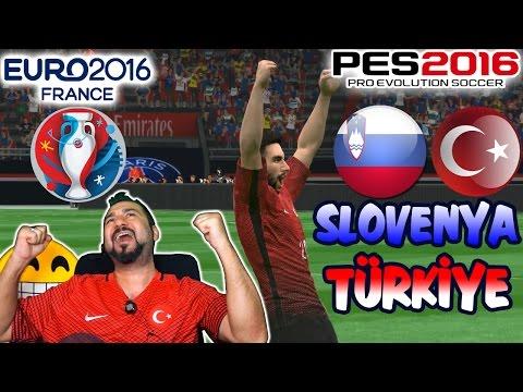 PES 2016 ile EURO 2016 | SLOVENYA-TÜRKİYE HAZIRLIK MAÇI