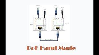 Самодельное PoE питание для сетевых устройств - Обзор