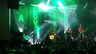 All Time Low - Dear Maria Count Me In Glasgow O2 Academy