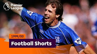 Incredible Goals | Premier League 1999/00 | Zola, Scholes, Heskey