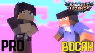 Download Video PRO VS BOCAH MOBA PLAYER - Animasi minecraft MP3 3GP MP4