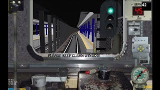 OpenBVE HD 60 FPS: Budd R32 A Train Cab Ride (Inwood-207th Street to Ozone Park-Lefferts Boulevard)