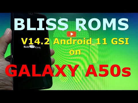 BlissRoms v14.2 Android 11 for Samsung Galaxy A50s - GSI