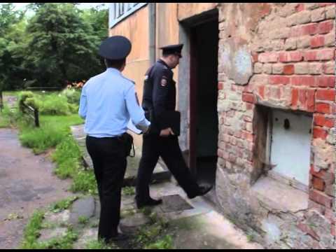 В Калининграде участковые полиции провели профилактический рейд