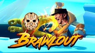 Brawlout - Кооперативный заруб с FreddyPlay - Море ржаки