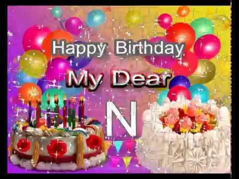 n letter whatsapp status n name whatsapp status happybirthdayn name