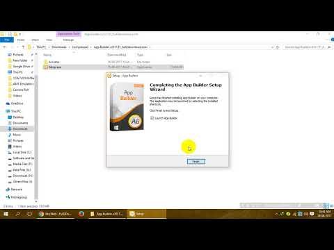 Download & Activate App Builder 2017