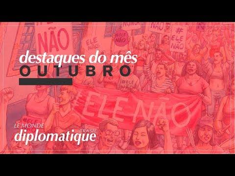Destaques de Outubro | #EleNão