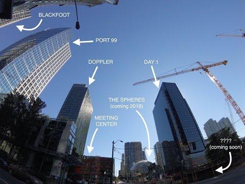 All Amazon Office Buildings in Seattle