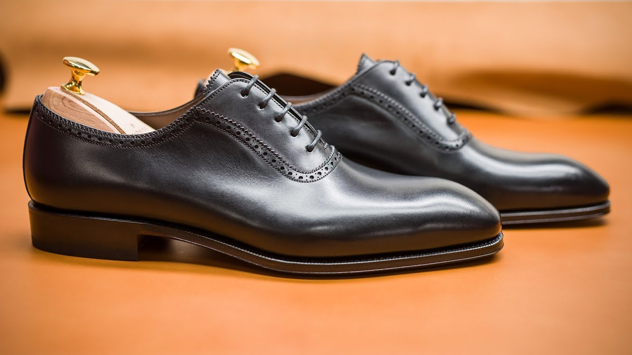 half off lace up in premium selection ADELAIDE SHOES 80208 SIMPSON · Carmina Shoemaker - YouTube