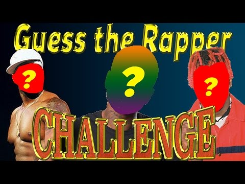 Guess the Rapper Challenge *DIFFICULT*