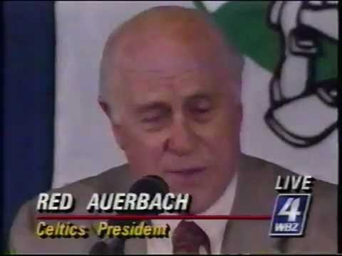 WBZ-TV Breaking News - Larry Bird retires from Boston Celtics - 1992 (Part 2 of 3)