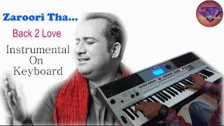 Zaroori tha-Back 2 Love-Instrumental On Keyboard