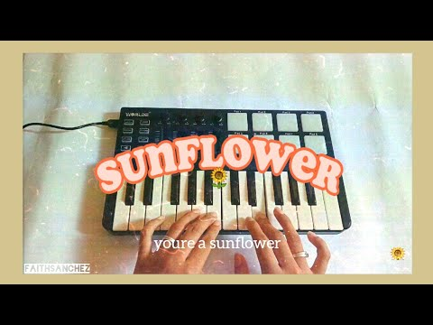 Sunflower - Post Malone, Swae Lee (Midi keyboard Cover) [instrumental]
