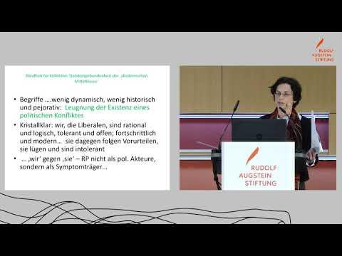 Gesellschaft des Zorns: Mobilisierungserfolge der Rechtspopulisten - Prof. Dr. Cornelia Koppetsch