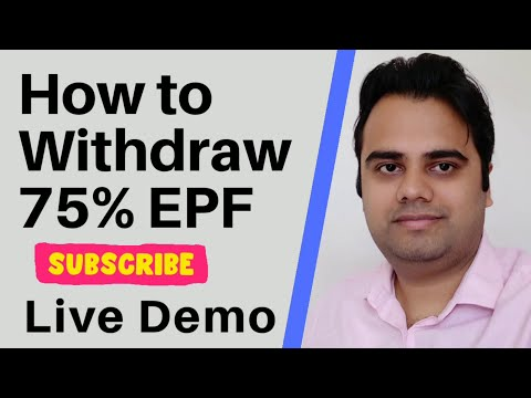 75% Advance PF Withdrawal Process Online | PF Advance | Credit In 3 Days | Apply In 10 Minutes