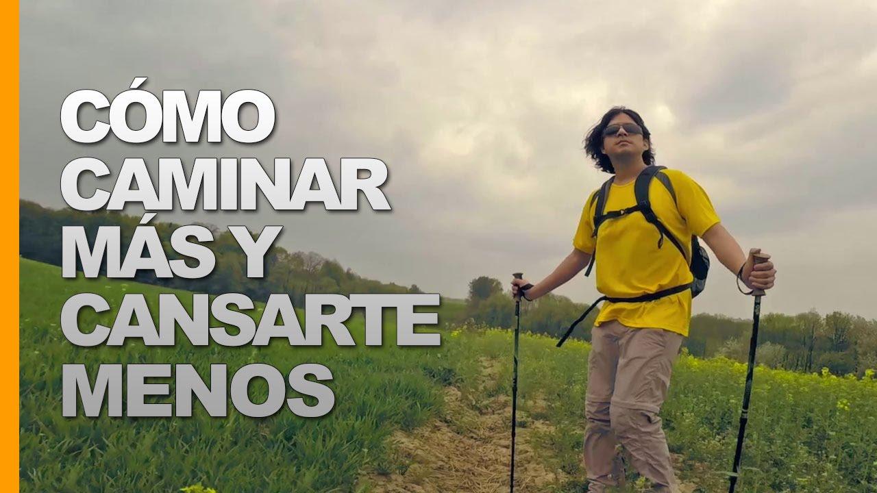 Bastones Caminar Trekking Cómo Cansarte Más Menos Con Youtube Y gxPBzH