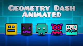 [Geometry Dash] Animated Icons (Entry for GD Animated?)