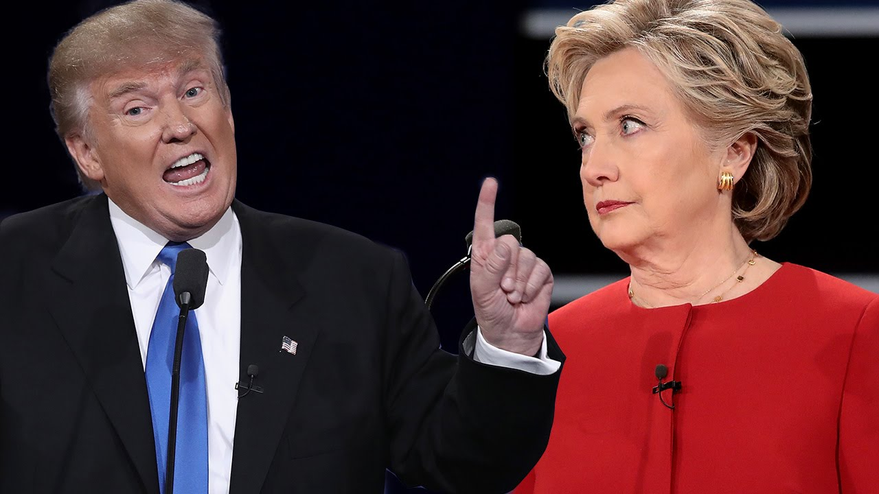 6 most awkward presidential debate moments hillary clinton vs donald trump youtube. Black Bedroom Furniture Sets. Home Design Ideas