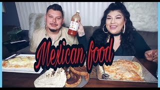Homemade Mexican food MUkbang tribute