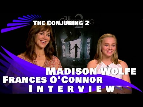 Frances O' Connor & Madison Wolfe Interview: The Conjuring 2