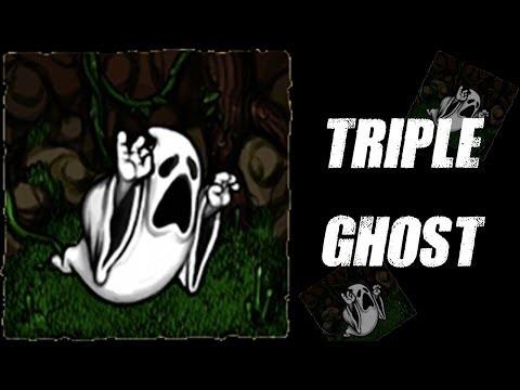 Triple Ghosting - Spelunky