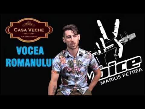 Vocea Romanului - Marius Petrea - Prezentare