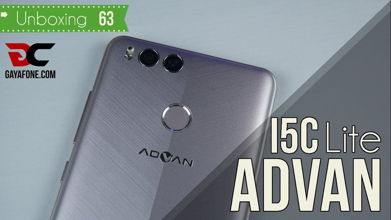 Unboxing Advan I5c Lite Sudah Dual Camera Dan Fingerprint 800rb An