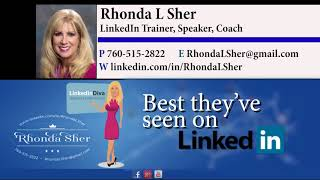 Jeff Wolf testimonial for Rhonda Sher