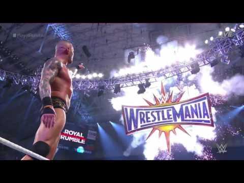 WWE ROYAL RUMBLE 2017 RANDY ORTON WINS...