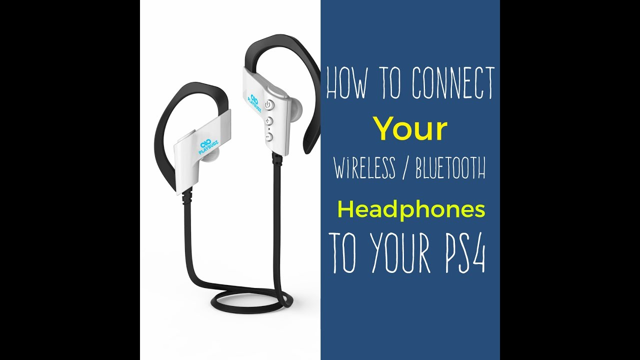 how to connect any wireless bluetooth headset to your ps4 youtube. Black Bedroom Furniture Sets. Home Design Ideas