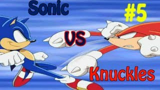 SONIC & KNUCKLES / SONIC VS KNUCKLES / NIVEL 5 / SEGA GENESIS