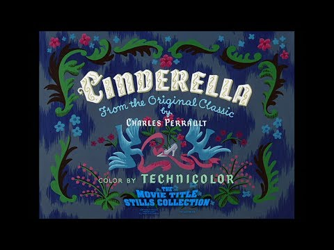 Cinderella (1950) Title Sequence