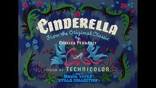 Cinderella (1950) Title Sequence