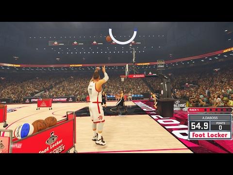 NBA 2k17 My Career - 3 Point Contest Ep.15