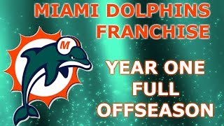 FREE AGENCY OR DRAFT!?!? | NFL 2k5 Miami Dolphins Franchise Rebuild | Ep18 Full Year 1 Offseason