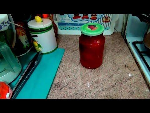 Помидоры - на зиму,  в томатном соке со стерилизацией в духовке