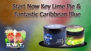Start Now Key Lime Pie & Fantastic Caribbean Blue Im Test