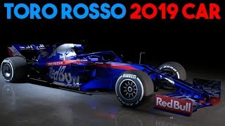 Toro Rosso F1 2019 CAR Launch! Subscribe for more F1 and FE goodnes...