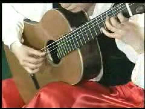 (Classical guitar) Paganini_Caprice_no_24